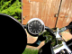 Mirror-Mate Motorcycle Mirror Clock